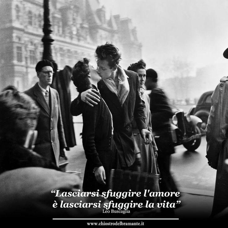 """""""Lasciarsi sfuggire l'amore  è lasciarsi sfuggire la vita"""" Leo Buscaglia #artoftheday  #sanvalentino"""