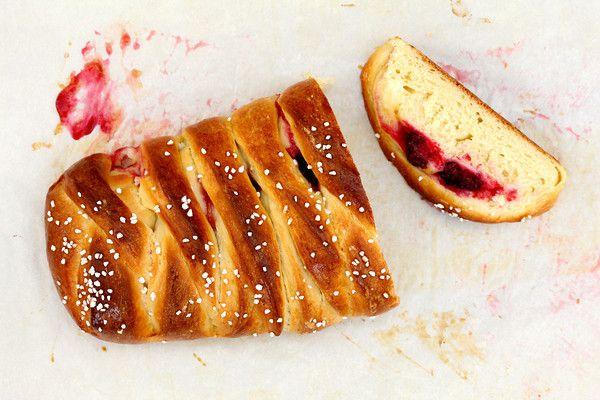 Braided Lemon Bread with Blackberries | breads, crackers etc | Pinter ...