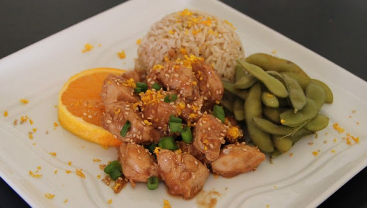 Sesame Orange Chicken | food | Pinterest