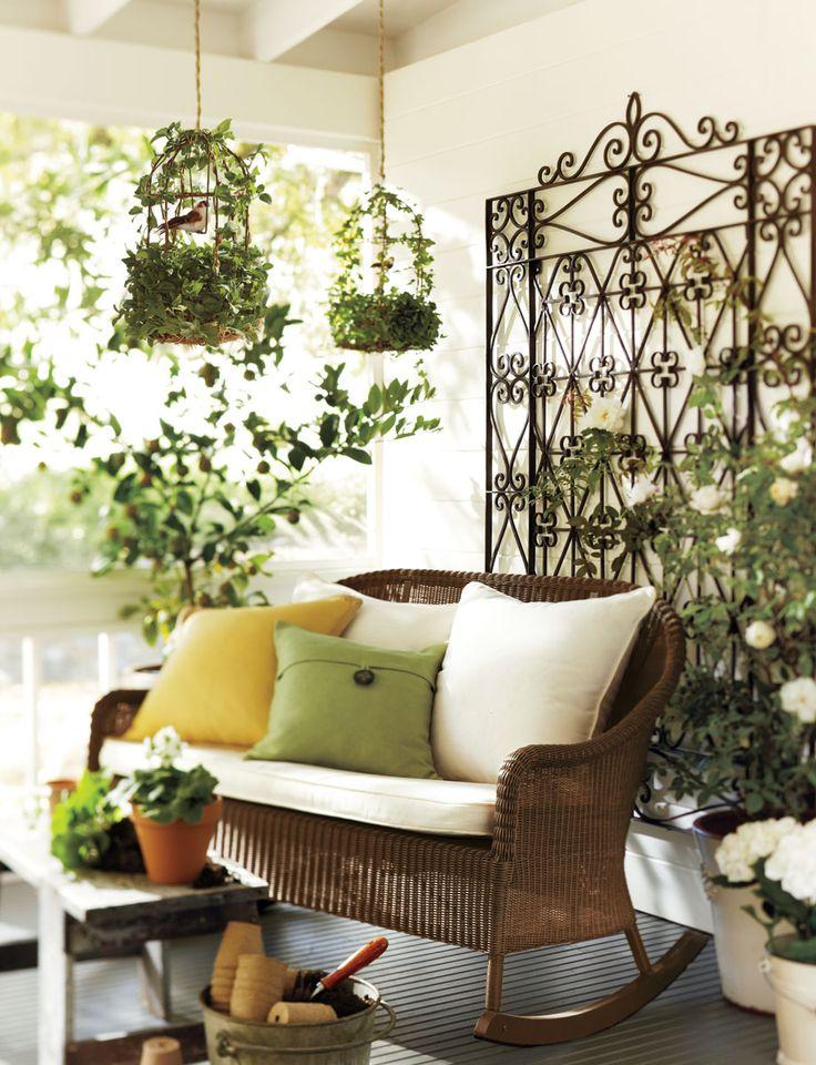 Green spot: Ideas, Sluts, Birdcages, Patio, Bird Cages, Garden, Sun Room