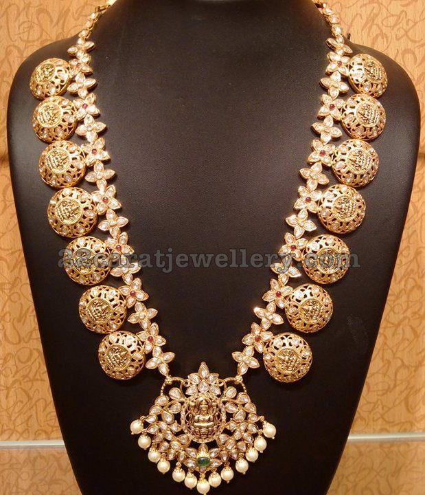 Pachi work Trendy Lakshmi Mala
