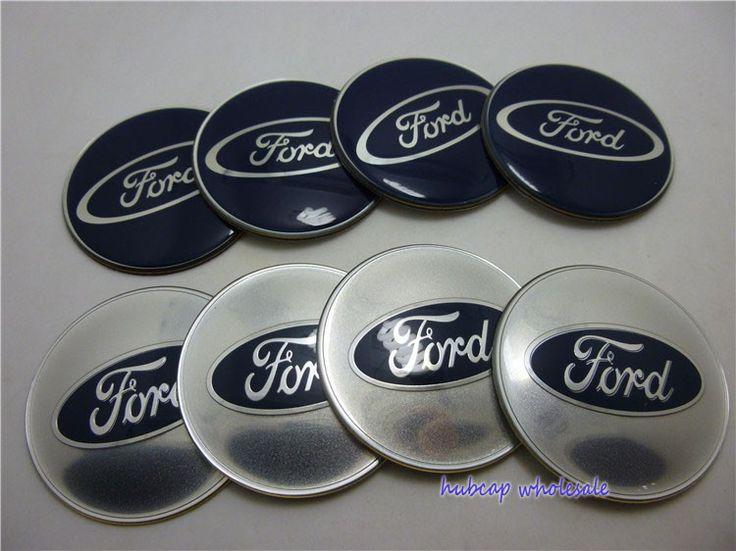 wholesale Car Tuninig 64.5mm Ford focus Wheels Center Caps Sticker 2.45'' 100pcs/lot Ford  Wheel Hub Caps Stickers Fast Shipping $110.90