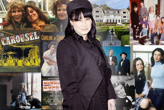 """Amy Sherman-Palladino on Her Cultural Influences -- So we went back to the inn, and the concierge was a French woman, and I went up to the room, and I said to my husband, """"What if I placed the show, like, here? Like, in this place?"""" He goes, """"Sure, why not?"""" And I sat down, and I got out the pad from the hotel, and I literally wrote, like, the first three scenes of Gilmore Girls on the pad. The inn is called the Mayflower. It's now gotten a lot fancier."""