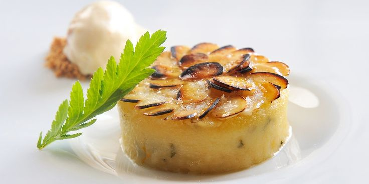 This amazing pudding by Simon Hulstone combines the flavours of rose, almond and tansy. Butternut squash ice cream adds excellent…