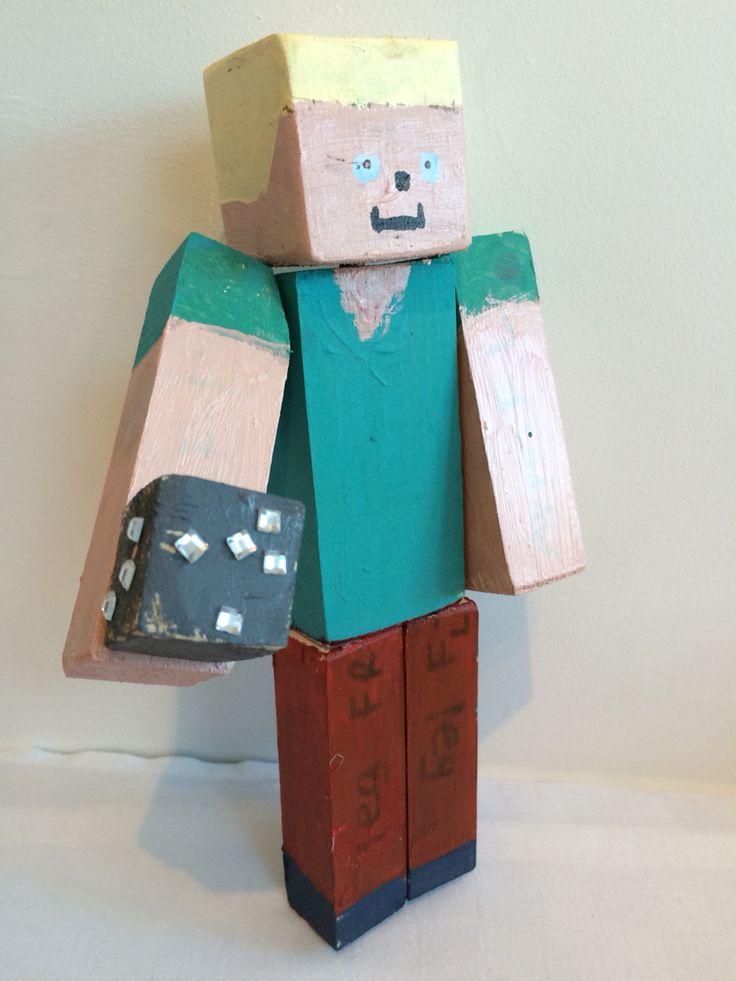#minecraft sculptures
