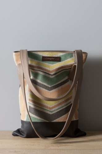 Nancy Bird, love this bag! 5237 Charcoal Ziggy Bag W12-291