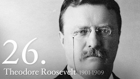 "Theodore ""Teddy"" Roosevelt became the youngest President in United States history after the assassination of William McKinley."