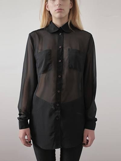 THE LAUREN black shirt by AARION