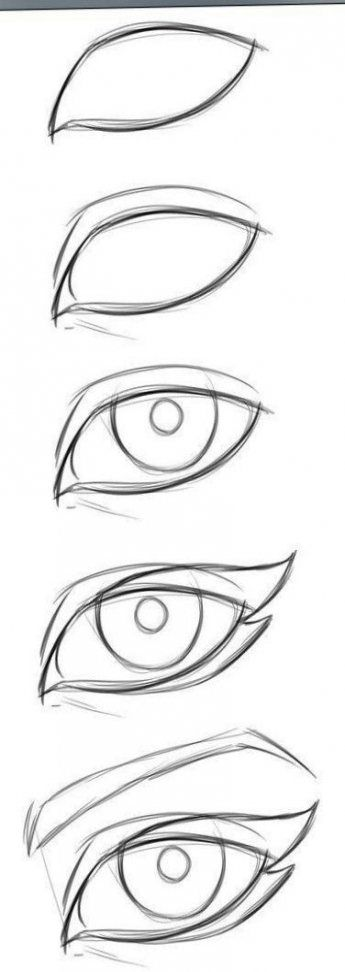 57 Ideas How To Draw Manga Anime Eye Tutorial
