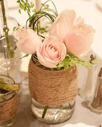 10 idee per decorare con barattoli di vetro riciclati