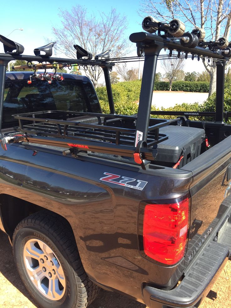 Kayak Fishing Truck Bed Rack Coach Ken (With images