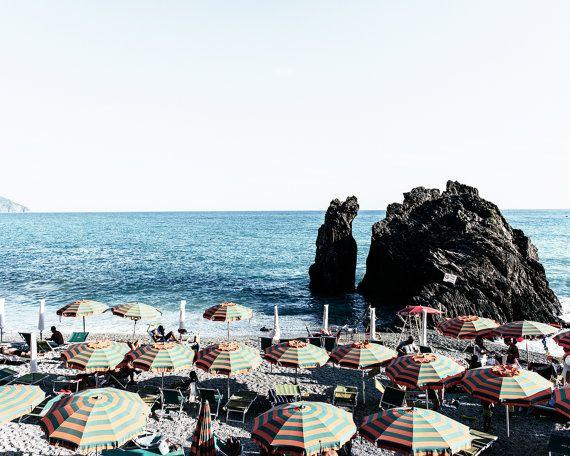Cinque Terre Beach Photo, Cinque Terre Beach Print, Beach Print, Aerial Beach Photo, Italy Photo, Italy Print, Beach Print, Beach Decor