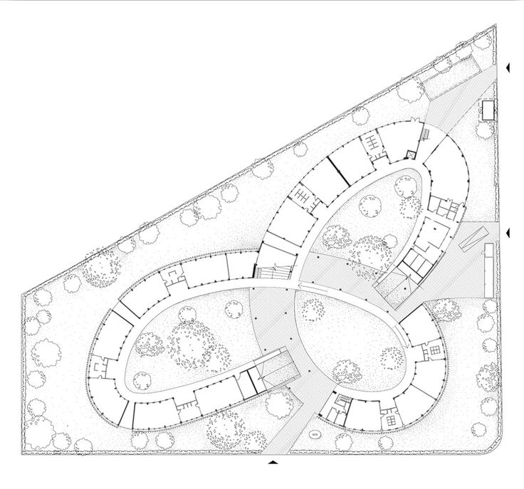 Image 20 of 24 from gallery of Farming Kindergarten / Vo Trong Nghia Architects. Ground Floor Plan
