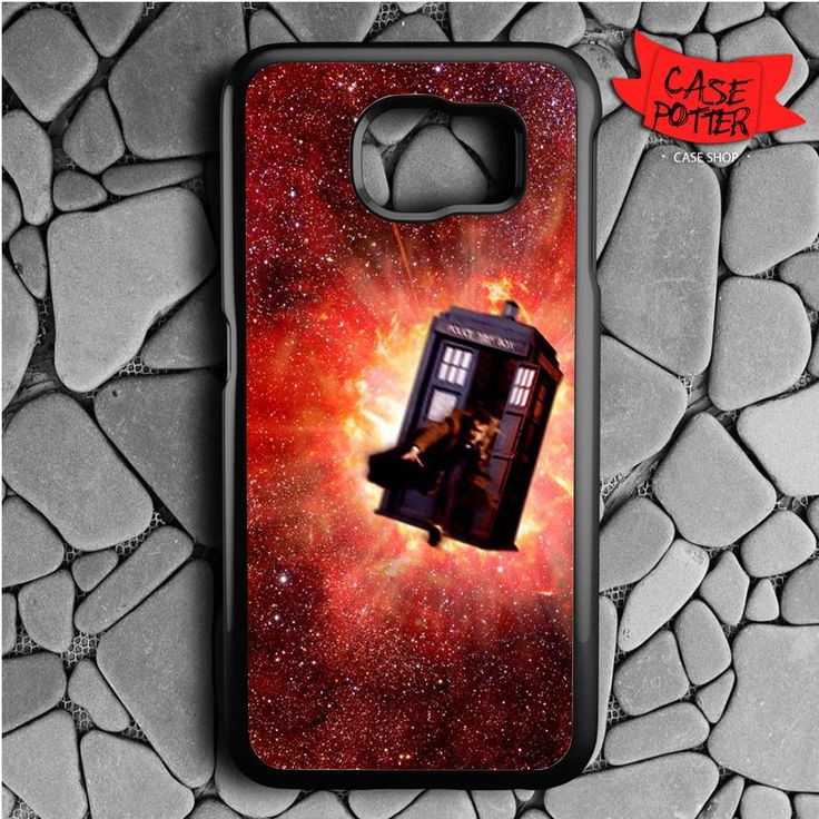 Doctor Who Samsung Galaxy S6 Black Case