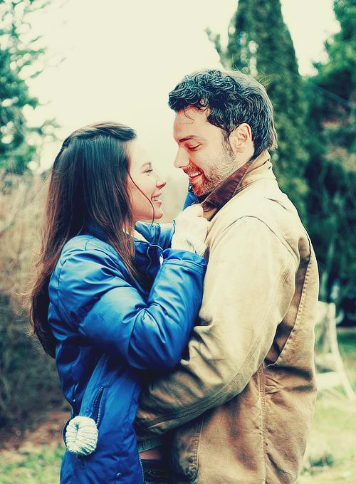 Aidan and Evangeline.... @saragrace88 they look really comfortable together lol