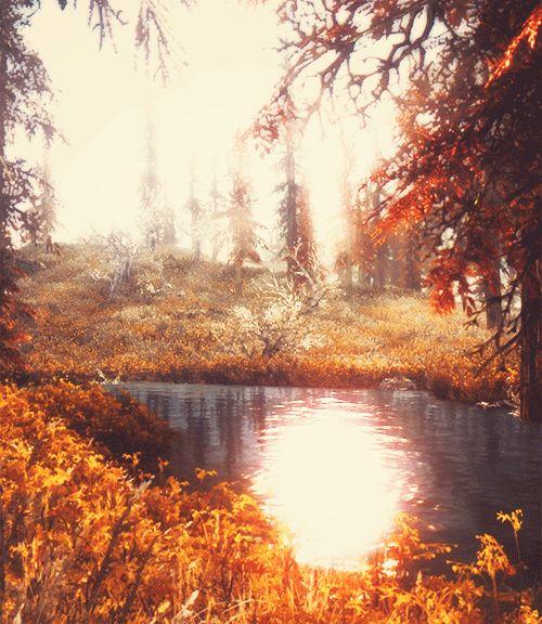lyriumnug:  Skyrim + pretty places