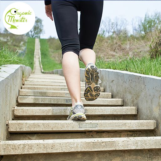Do sport regularly will maintain your good mood. Have you ever considered climbing stairs as a sport?