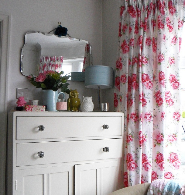 Cath Kidston roses curtains