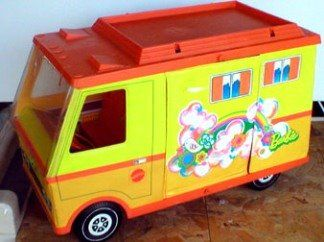 Barbie Camper- Barbie gets all the cool toys! I loved this one!