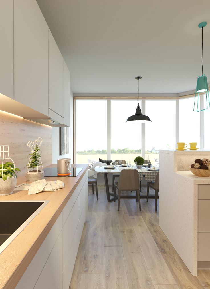 Дизайн интерьера квартиры #скандинавский #scandinavian #apartment #design #дизайн_квартиры #кухня