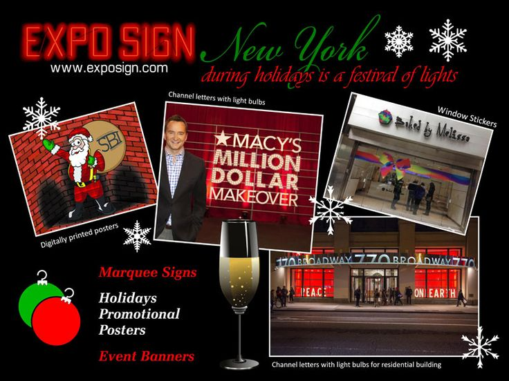 Expo Sign is a custom sign shop located in NJ & NYC. We have over 60 years of combined experiance. Expo Sign can attend your custom sign needs at top quality and quick turnaround.
