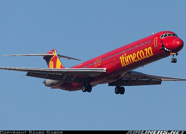 1Time Airlines McDonnell Douglas MD-83