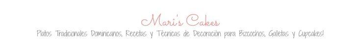 Mari's Cakes munton de recetas dulces y saladas con tutoriales y tips en español