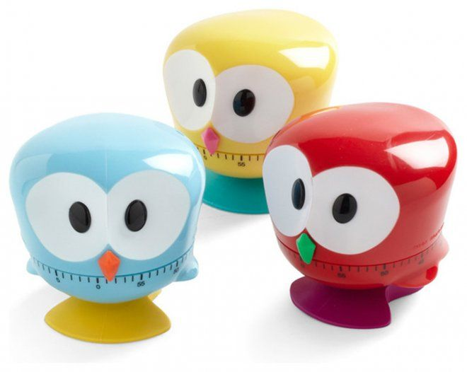 Beak the Clock Kitchen Timers: 21 Obnoxiously Cute Kitchen Items | The Savory