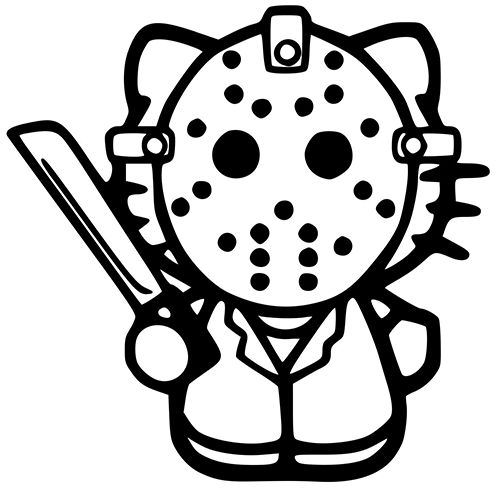 Hello Kitty Pirate Coloring Pages : Pin by pirate vinyl decals on characters pinterest