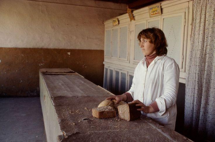 Martin Parr - ALBANIA. Shkoder. Bread Shop. 1990.