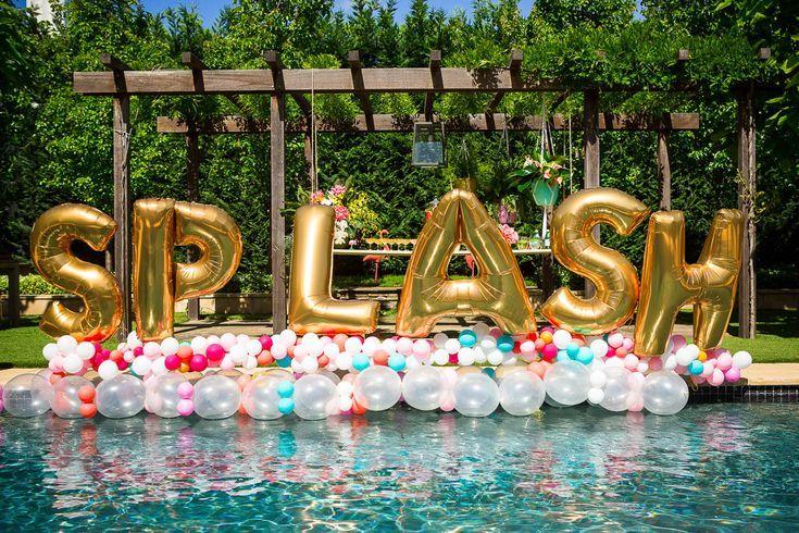 """Balões Jumbo Personalizados de 40 """"Escolha suas letras Festa de Noivado, Chá de Bebê, Aniversário, …   – Party Decorations"""