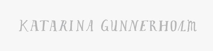 Logo Katarina Gunnerholm. Nadine Furer 2014