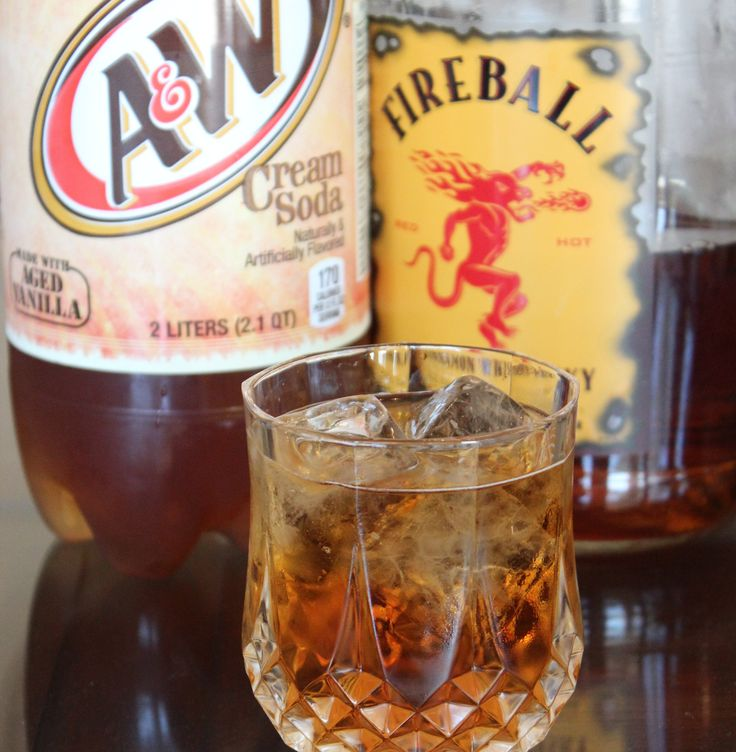 "Cinnamon Roll Cocktail -  ""tastes just like a cinnamon roll covered in icing, but isn't too heavy or sweet; the Fireball gives it cinnamon flavor with enough spice to balance out the sweet cream soda."" : fireballdrinks"