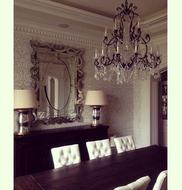 Glamorous Dining Rooms: Paloma Contreras Design