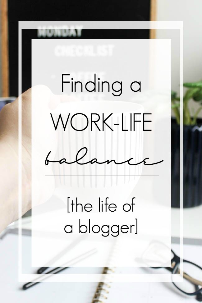 Finding a work life balance is hard for everyone! Here's a glimpse into how I balance being a blogger and a mom. Working from home and maintaining a life balance can be challenging!