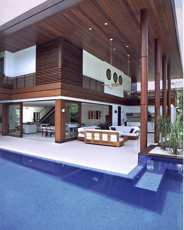 25 melhores ideias sobre casas de praia modernas no for Casa moderna 11