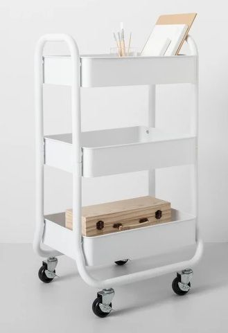 Made By Design 3 Tier Metal Utility Cart Made By Design In 2019