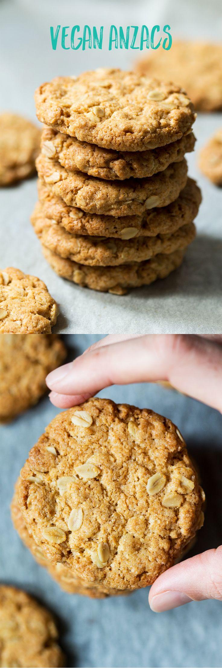 #vegan #anzaccookies #vegan #anzacs #biscuits #cook #easy #recipe #recipes