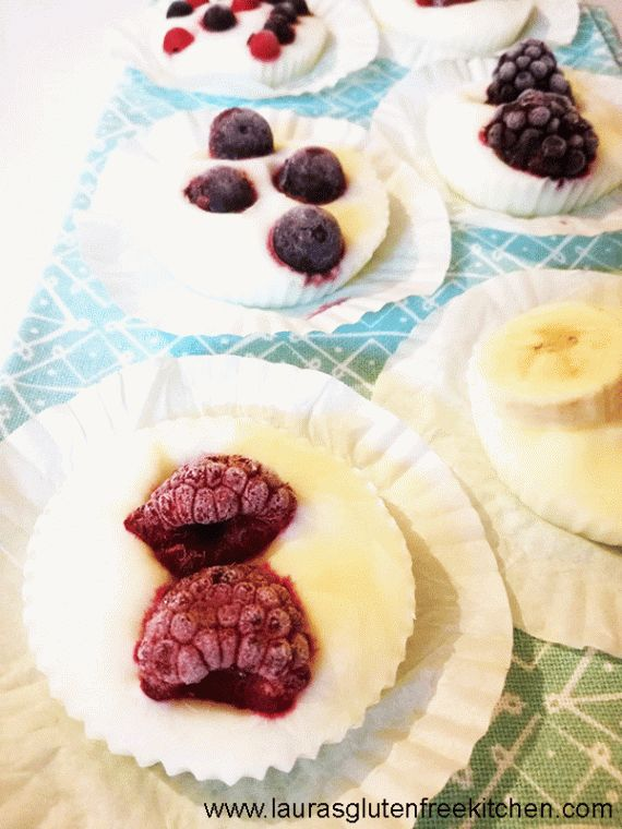 These Gluten Free Frozen Yogurt Bites are great to munch on straight out of the freezer as a healthy snack or dessert, or for a fresh idea for breakfast you could throw a few into a bowl of granola or cereal.