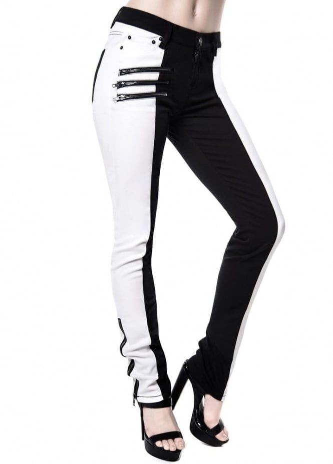 Killstar Duality Speed Jeans | Attitude Clothing