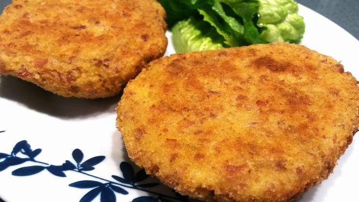La cocina italiana de Carmen: Hamburguesas de patatas y salchicha fresca