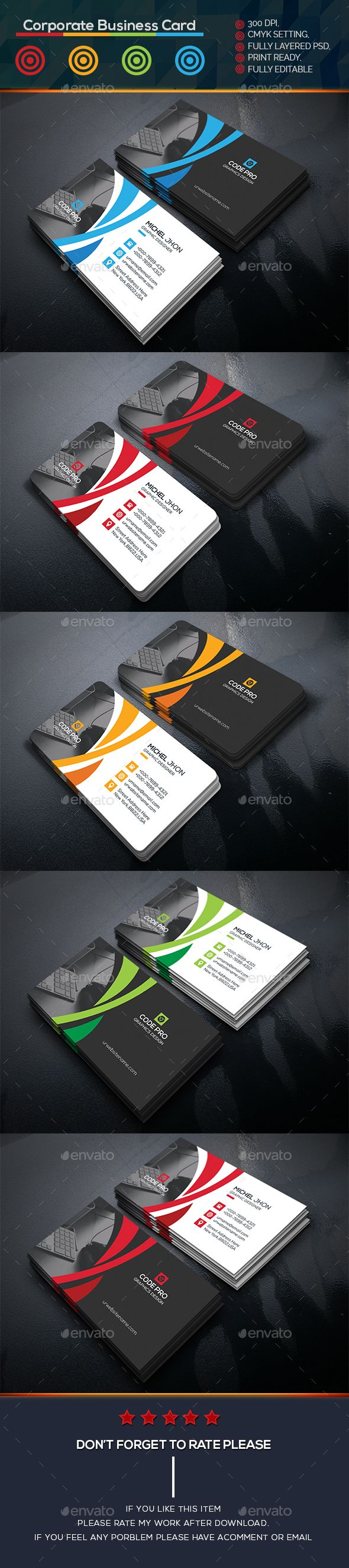 419 Best Card Design Images On Pinterest Visit Cards Business