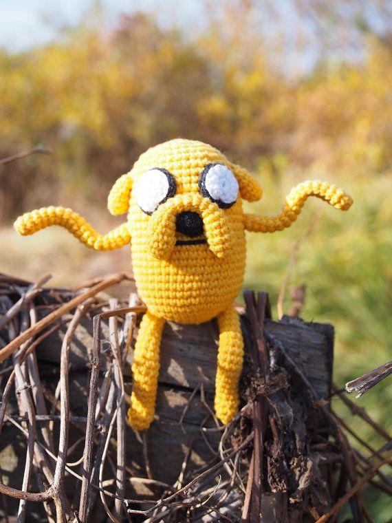 Jake the Dog Adventure Time Amigurumi by BlueberryYarn on Etsy