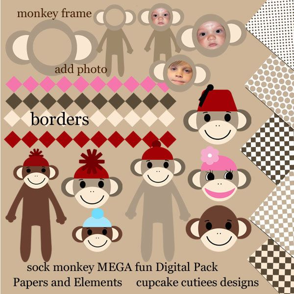 17 Best images about Sock Monkeys! on Pinterest | Toys, The box ...