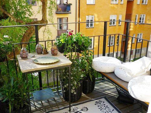 http://inredningsvis.se/inspiration-balkonger/  Balkonger och balkonginredning: inspiration - Inredningsvis