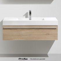 ZEBRAK 120cm Wall Hung Vanity By Prodigg®