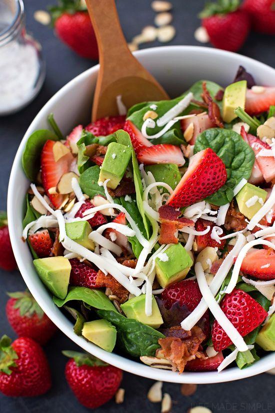 salads on Pinterest | Buffalo chicken tacos, Shrimp avocado salad ...
