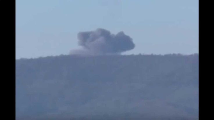 Russian SU-24 Shoot down by Turkey F-16 rare Footage