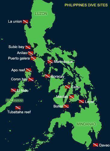 Scuba Diving Philippines Asia Dive Travel