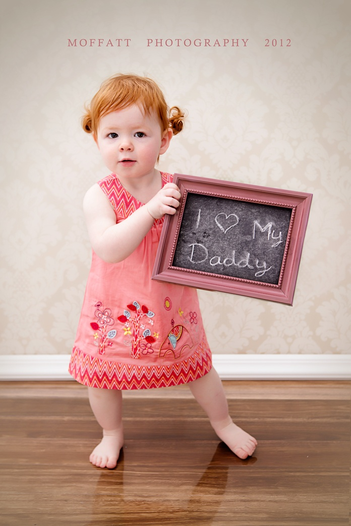 Happy Father's Day! Father's Day art by Moffatt Photography